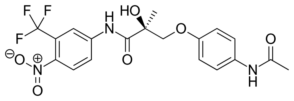 Image result for Structure of S-4 Andarine